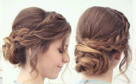 Hair Tutorial: Easy Braided Updo Hairsty