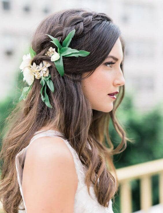 27 Gorgeous Wedding Braid Hairstyles For Your Big D