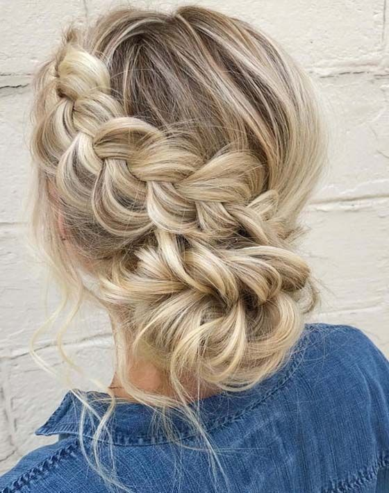 35 Breath-taking Braided Wedding Hairstyles to Shine | Braided .