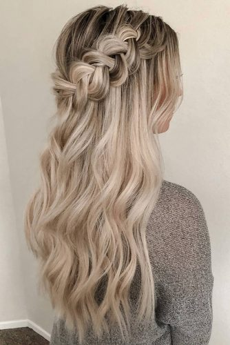 48 Perfect Bridesmaid Hairstyles Ideas | Wedding Forwa