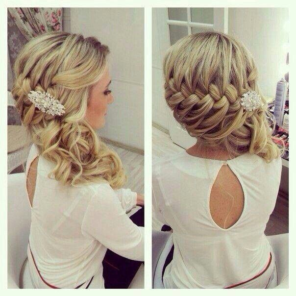 30 Hottest Bridesmaid Hairstyles For Long Hair | Glamorous wedding .