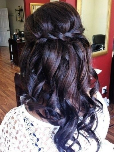 Bridesmaid Hairstyles for Long Hair