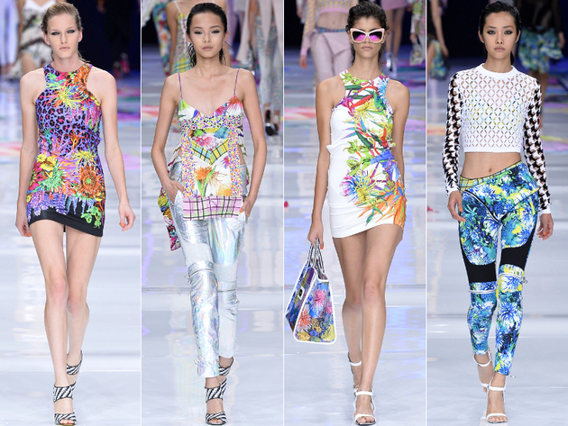 Milan Fashion Week; Bright Colors for 2014 Spring | Fashion Trends .