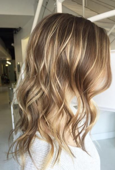 Perfect Brunette & Blonde Blend | Thin hair haircuts, Brown blonde .