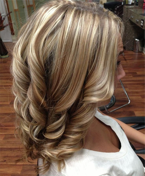 Brunette Hairstyles With Blonde   Highlights