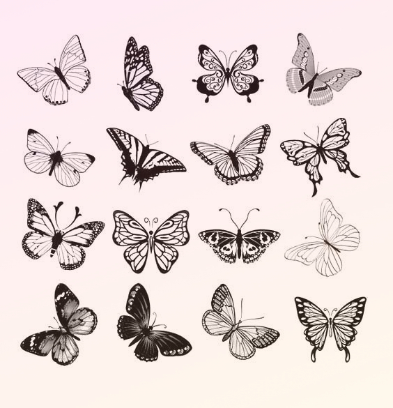 Small Butterflies Tattoo Design – Perfect life sty