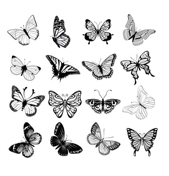 Small Butterflies Tattoo Design Tattoo butterfly tattoo in 2020 .