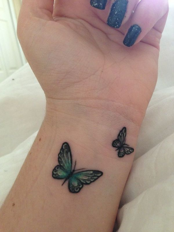 Butterfly Tattoos & Their Meanings