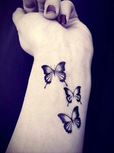 50 Really Beautiful Butterfly Tattoos Designs And Ideas With .