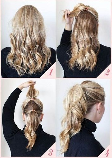 20 Best and Easy Hairstyles for Everyday in 2020 | Office .