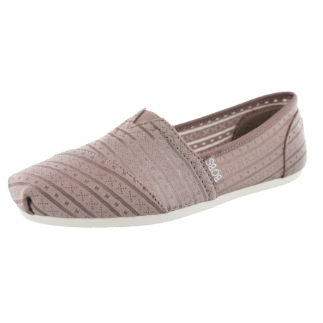 Skechers Women Easy On Casual Walking Slip On Flats Plush Urban .