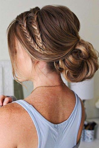 Awesome 47 Stylish Casual Prom Hairstyles Ideas | Hair updos .
