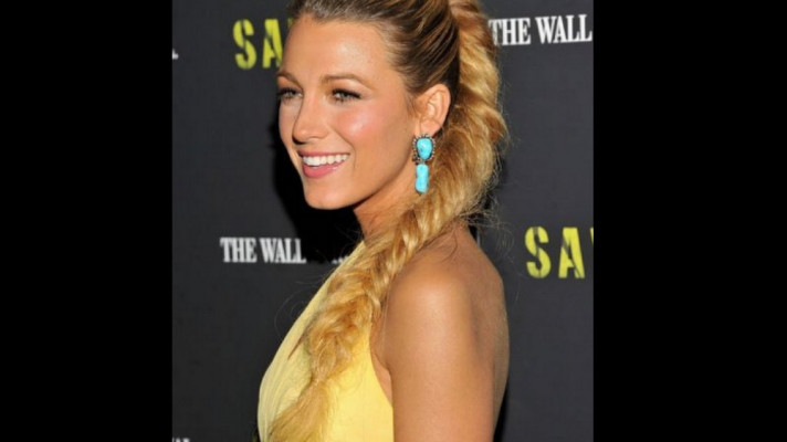 Celebrities Fishtail Braided Hairstyles