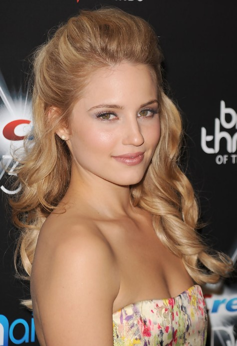 Celebrity Half Up Half Down Prom Hairstyle - Hairstyles Week
