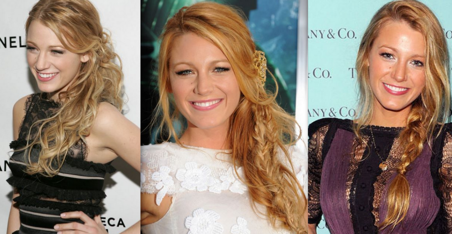 Celebrity Inspired Side Swept Hair Styles | Sophie Hairstyles - 363