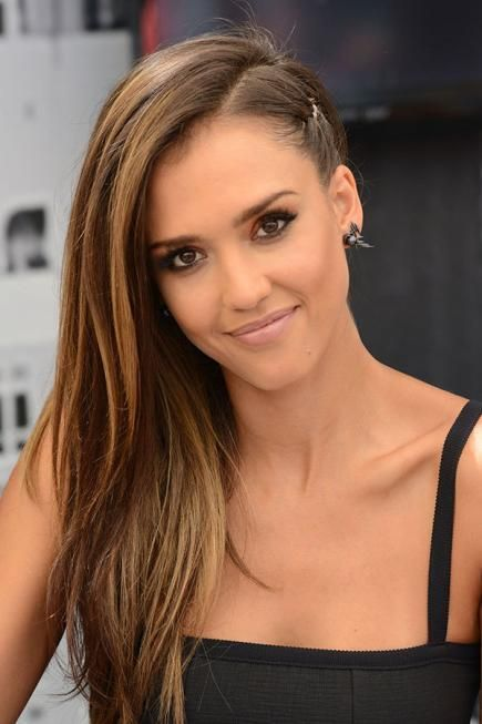 16 Celebrity Hairstyle and Makeup Ideas 2020 | Jessica alba hair .