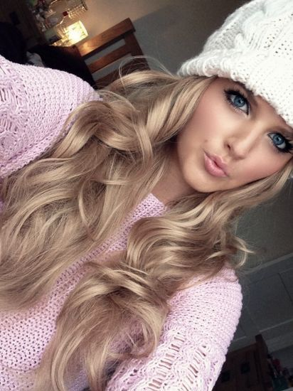 24 Champagne Blonde Hairstyles for Women | Frisuren, Haarfarben .