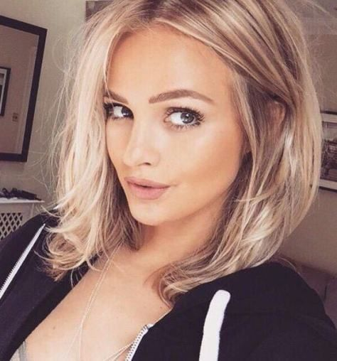Best Cute Blonde Hairstyles 2017 2018 | Oval face hairstyles, Hair .