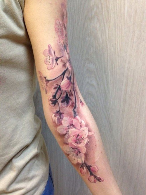 Cherry Blossom Tattoo Meaning | herinterest.co
