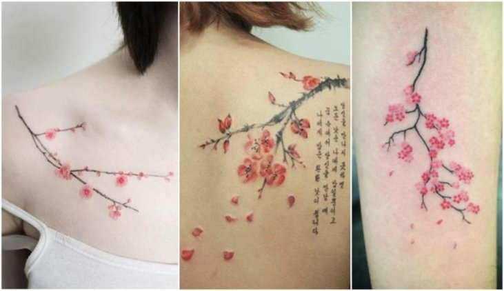 Amazing Cherry Blossom Tree Tattoos Latest Desings For March 20