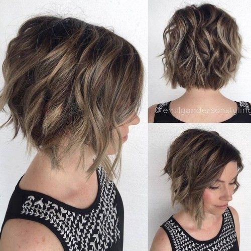 Chic Curled Out Bob Hairstyles for Short   Hair