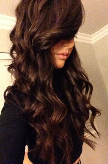 Chic Dark Colored Hairstyles