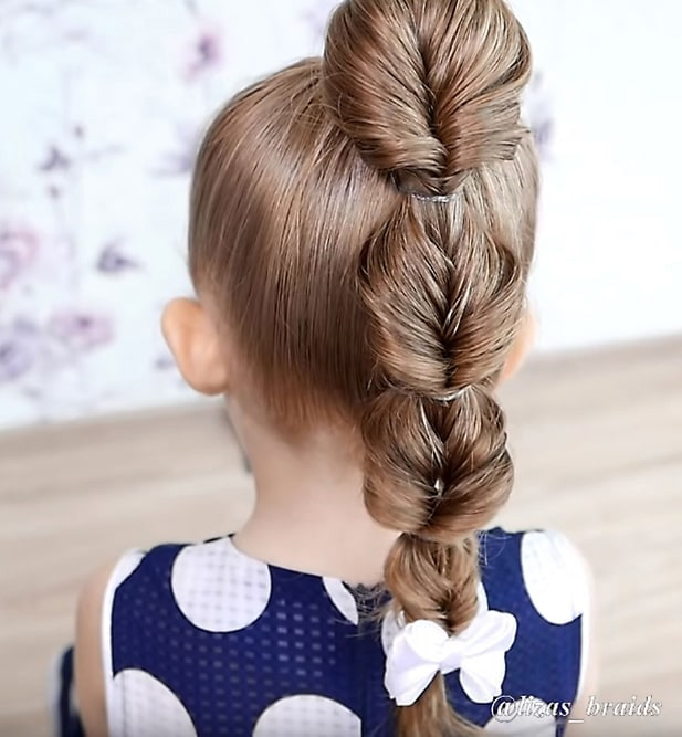 The Best Tutorials of Braided Hairstyles for Little Gir