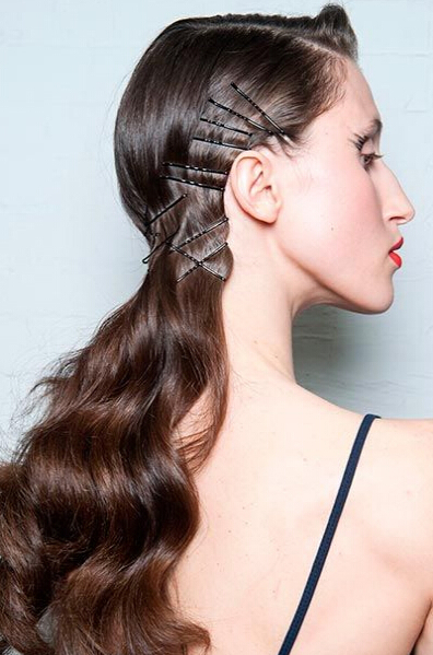 Chic Hairstyles With Bobby Pins