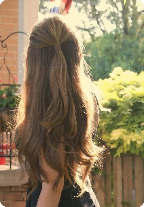 Best Easy and Chic Holiday Hairstyle Idea | Thick hair styles .