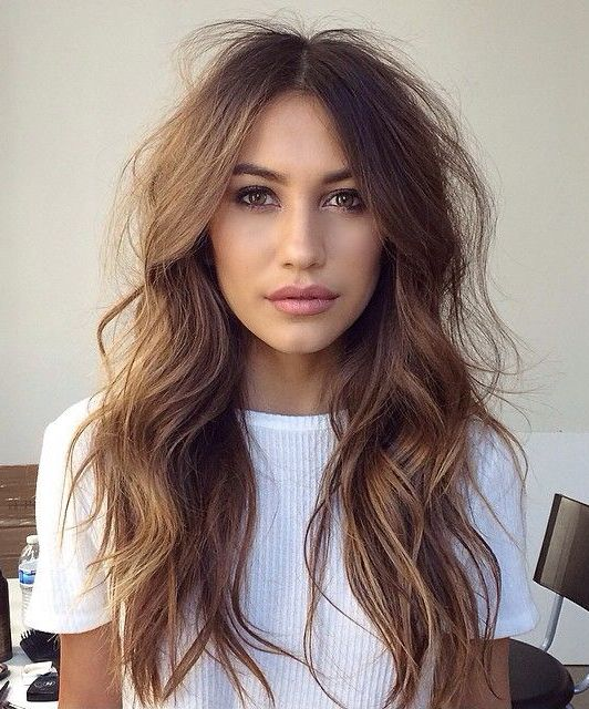 Easy Long Wavy Hairstyles for Women | Haircuts for fine hair, Chic .
