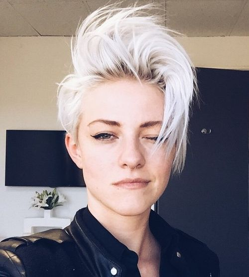35 Short Punk Hairstyles to Rock Your Fantasy | Punk haircut .