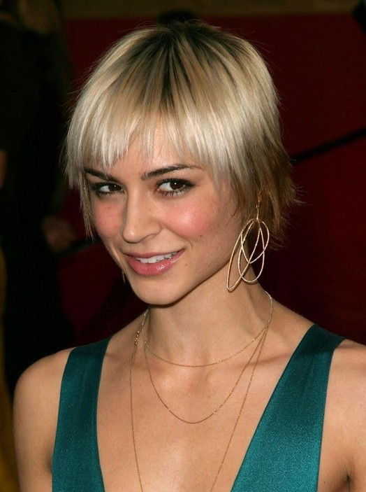 10+ Straight Hairstyles for Short Hair: Short Haircuts for 2014 .
