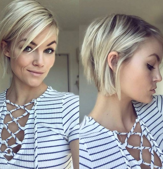 50 Chic Everyday Short Hairstyles for 2020 - Pixie, Bobs,Pageboy .