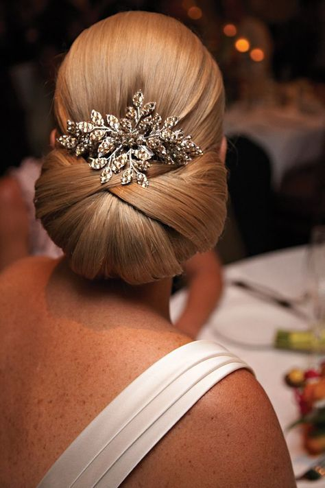 15 elegant and chic sleek updo hairstyles for women - hairstyles .