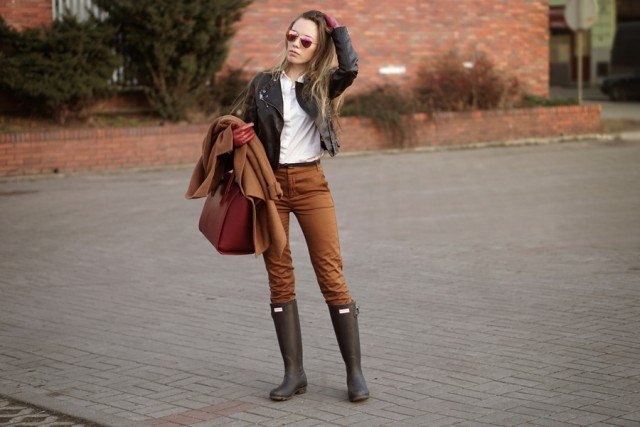 Fashiontrends4everybody: 6 Super Chic Ways to Wear Rainy Boo