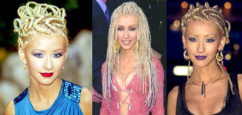 Top 40 Most Beautiful Hair Looks of Christina Aguilera - Pretty .