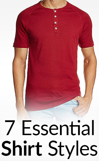 7 Essential Shirt Styles Every Man Should Own | Casual Men's .