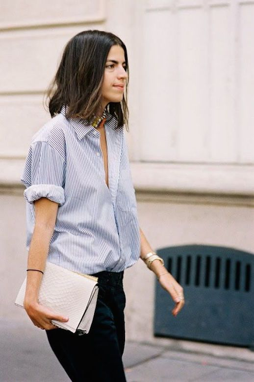 25 Ways To Wear A Striped Button-Down Shirt (Le Fashion) | Fashion .