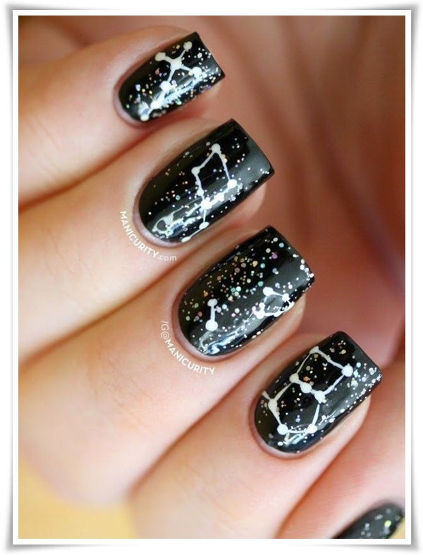 black and white nails - Kampa.luckincsolutions.o