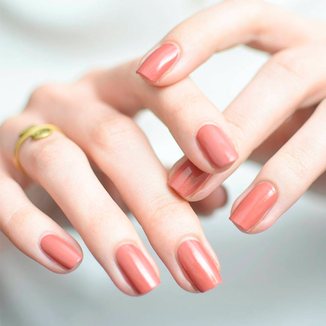 Classic Nude Nails