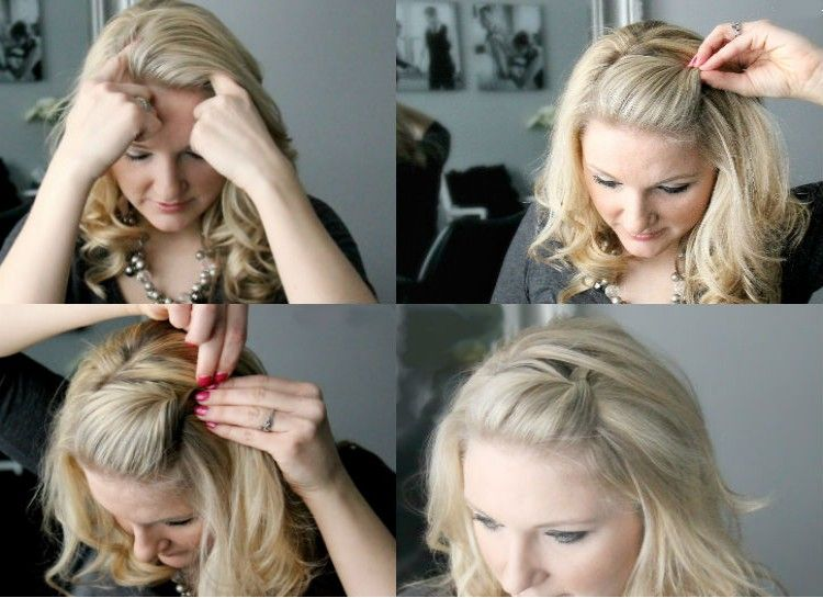 19 Creative Ways To Hack Your Hairstyle With Bobby Pins | Hair styl