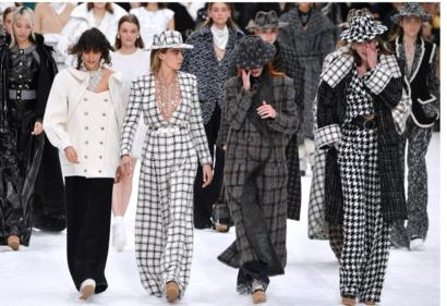 Chanel showcases last Karl Lagerfeld collection at Paris Fashion .