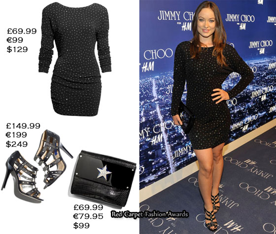 Jimmy Choo For H&M Collection Party - Red Carpet Fashion Awar