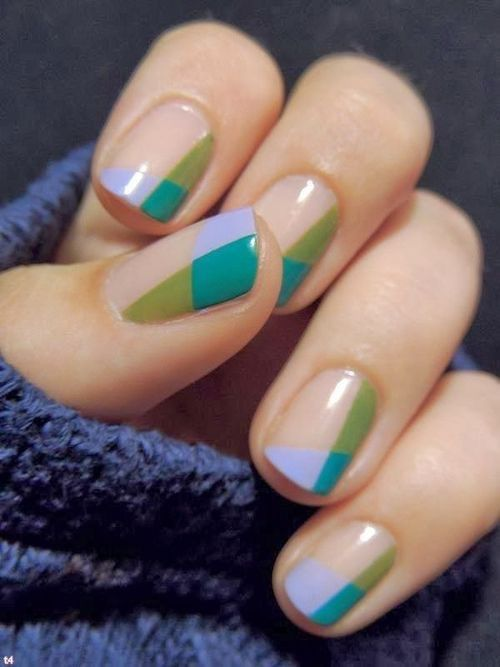 Color Block Nails Pictures, Photos, and Images for Facebook .