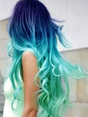 4 Wildly Colored Hairstyles - Pretty Desig