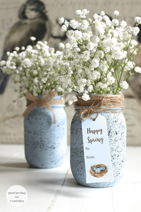 70 Colorful Easter and Spring Decoration Ideas which are Cheerful .