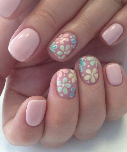 20 Worth Trying Long Stiletto Nails Designs | Pink nails, Flower .
