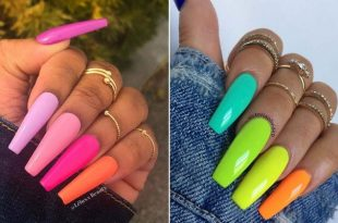23 Colorful Nail Art Designs That Scream Summer | StayGl