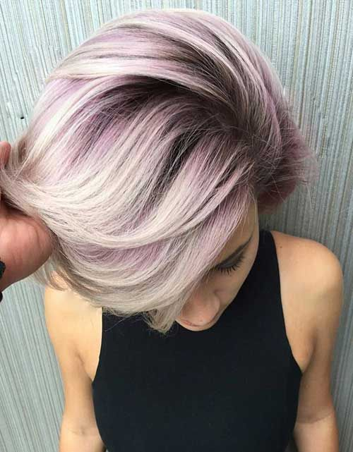 25 Color For Short Hair | Short hair color, Metallic hair color .