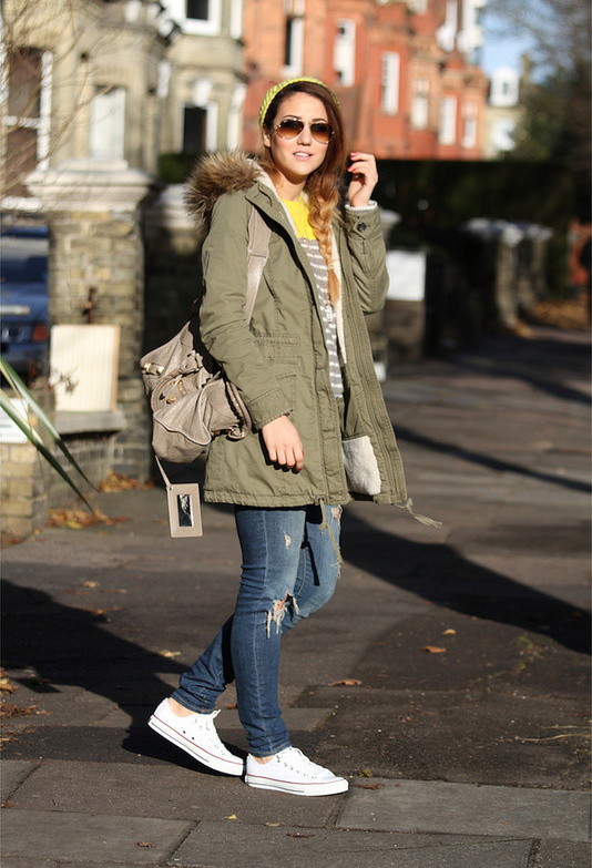15 Combination Ideas for Trendy Looks with Sneakers - Pretty Desig